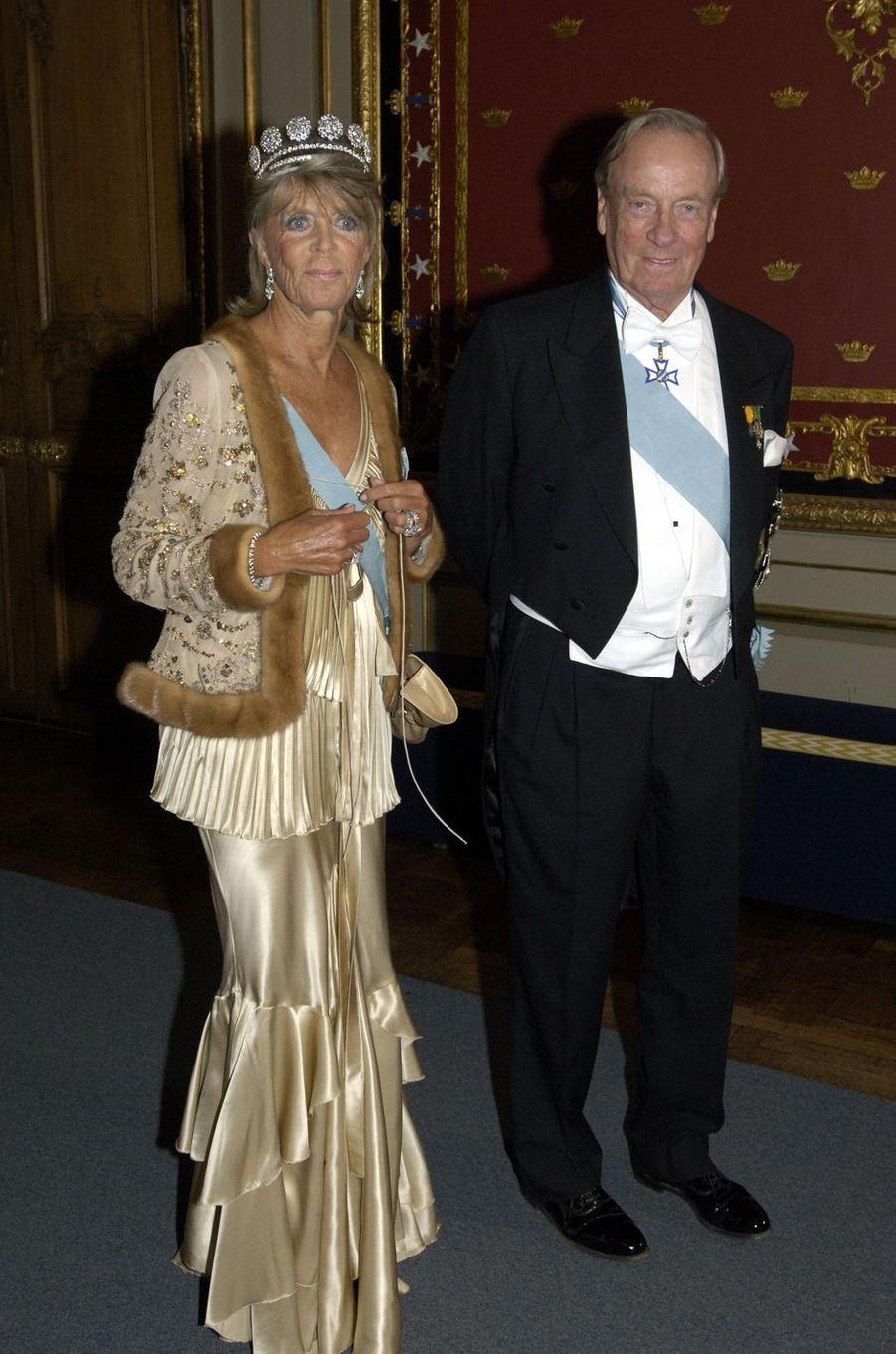 La princesse Birgitta de Suède avec son mari, le 30 avril 2006