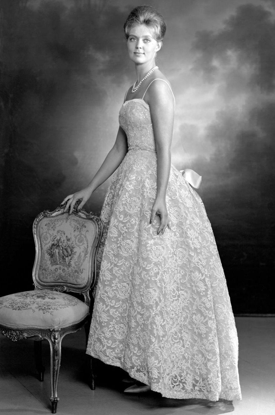 La princesse Birgitta de Suède, en 1963