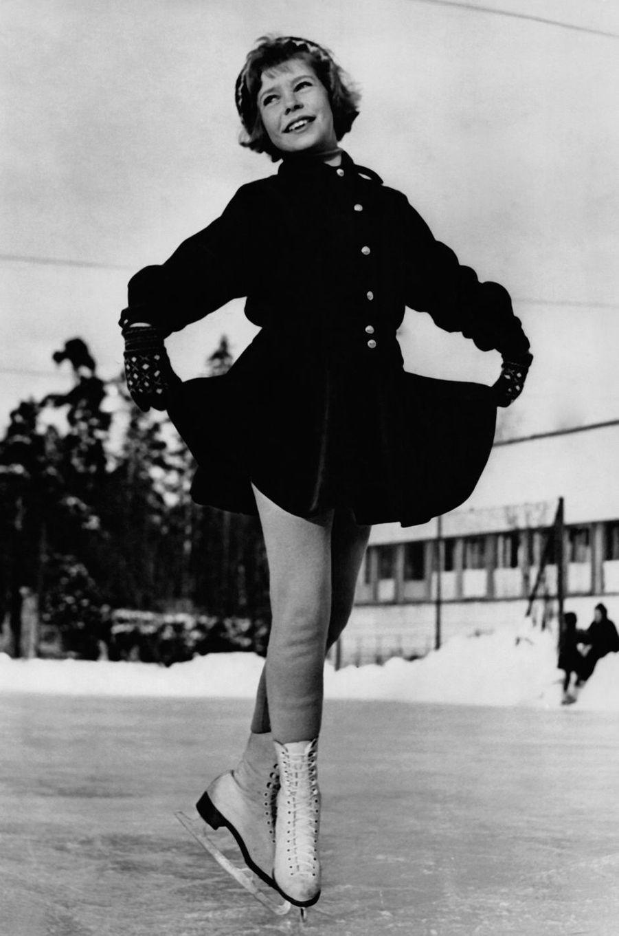 La princesse Christina de Suède le 16 février 1953