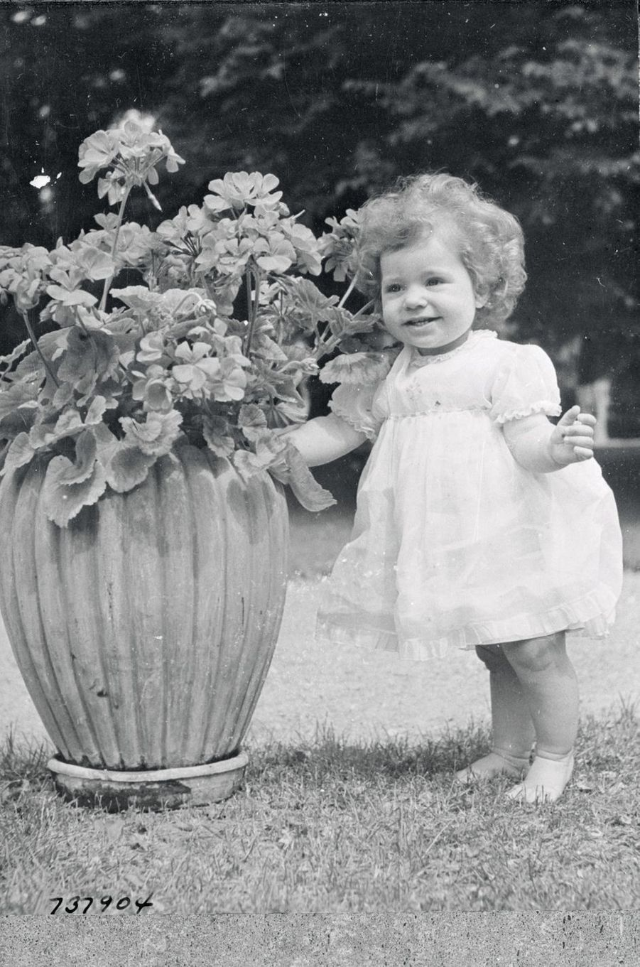 La princesse Christina de Suède le 23 septembre 1944