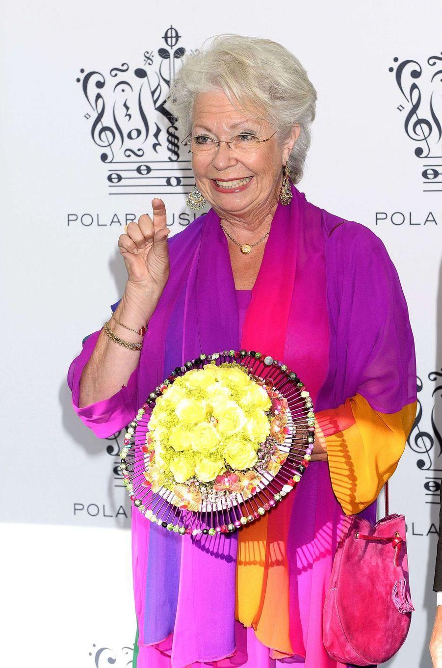 La princesse Christina de Suède le 27 août 2013