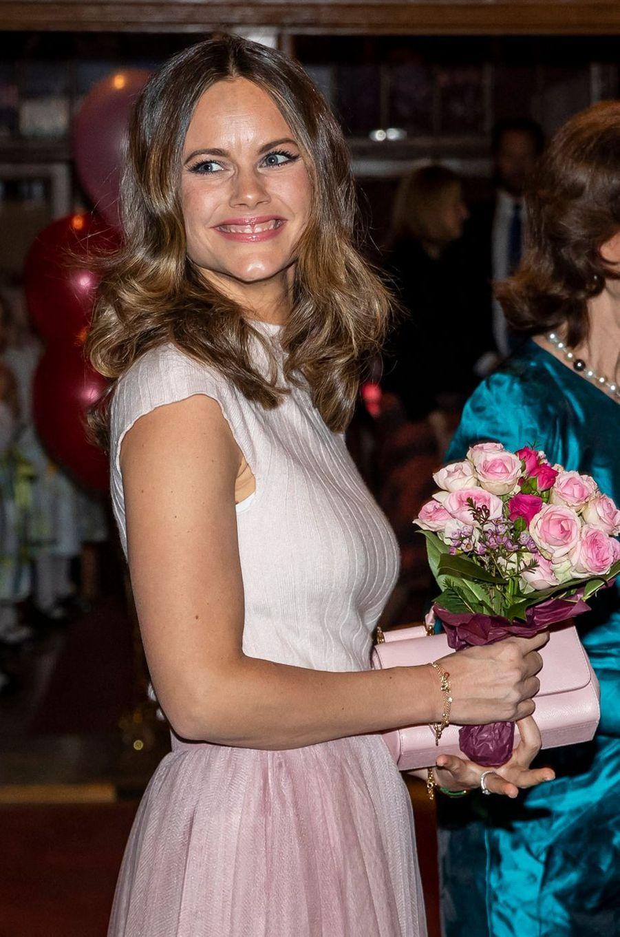 La princesse Sofia de Suède à Stockholm, le 13 février 2020