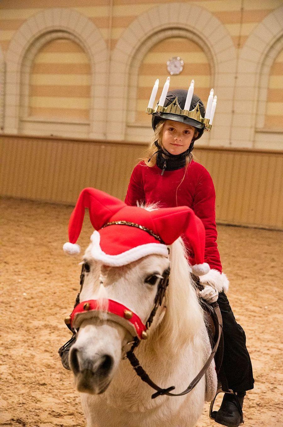 La princesse Estelle de Suède. Photo diffusée le 13 décembre 2019