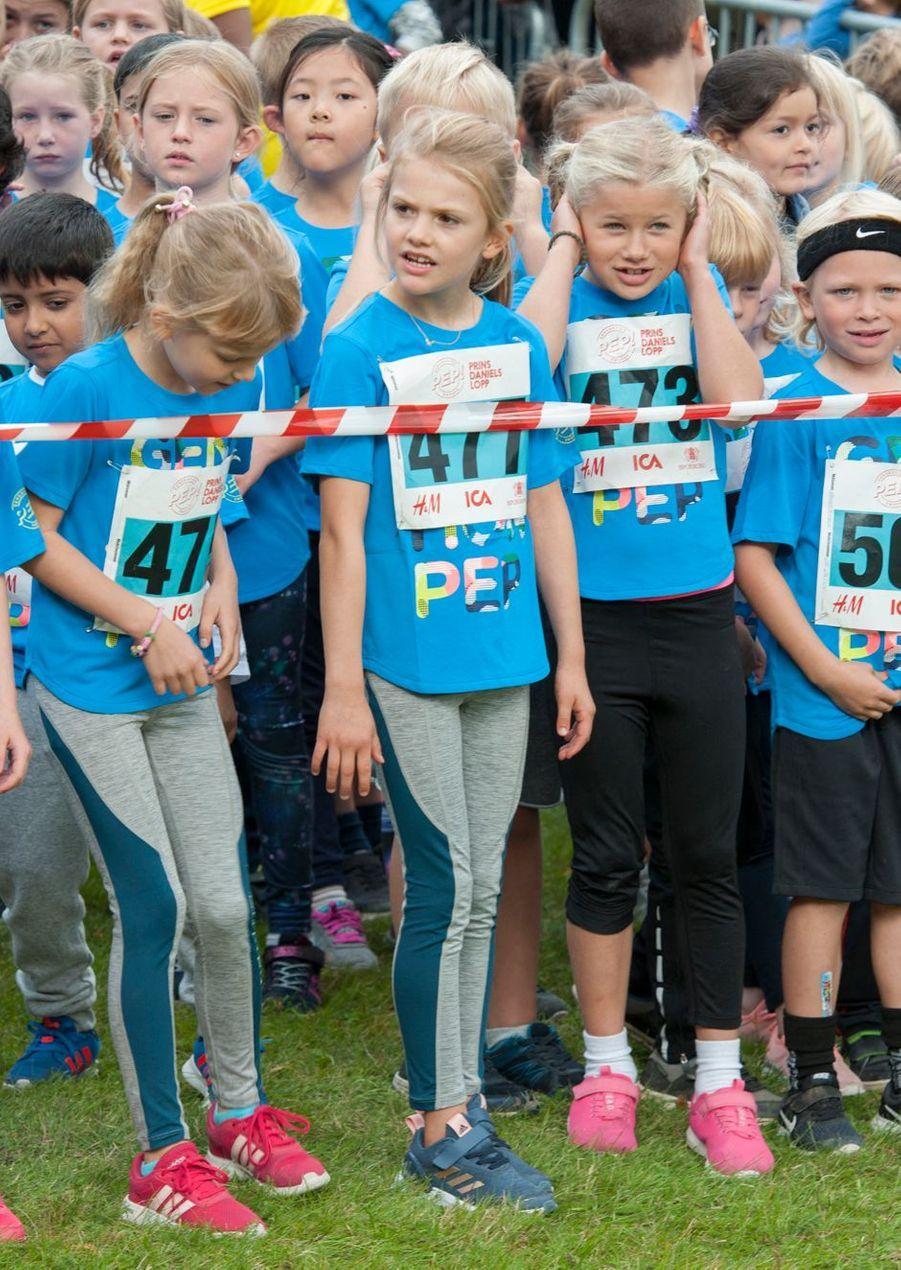 La princesse Estelle de Suède, le 8 septembre 2019 à Solna