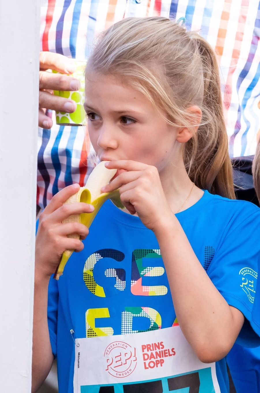 La princesse Estelle de Suède à Solna, le 8 septembre 2019