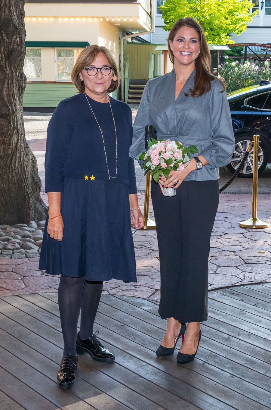 La princesse Madeleine de Suède à Stockholm, le 13 septembre 2017