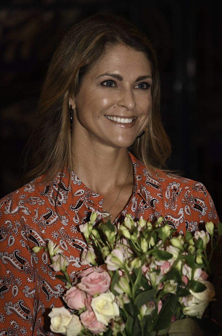 La princesse Madeleine de Suède, le 3 novembre 2019 à Fort Lauderdale