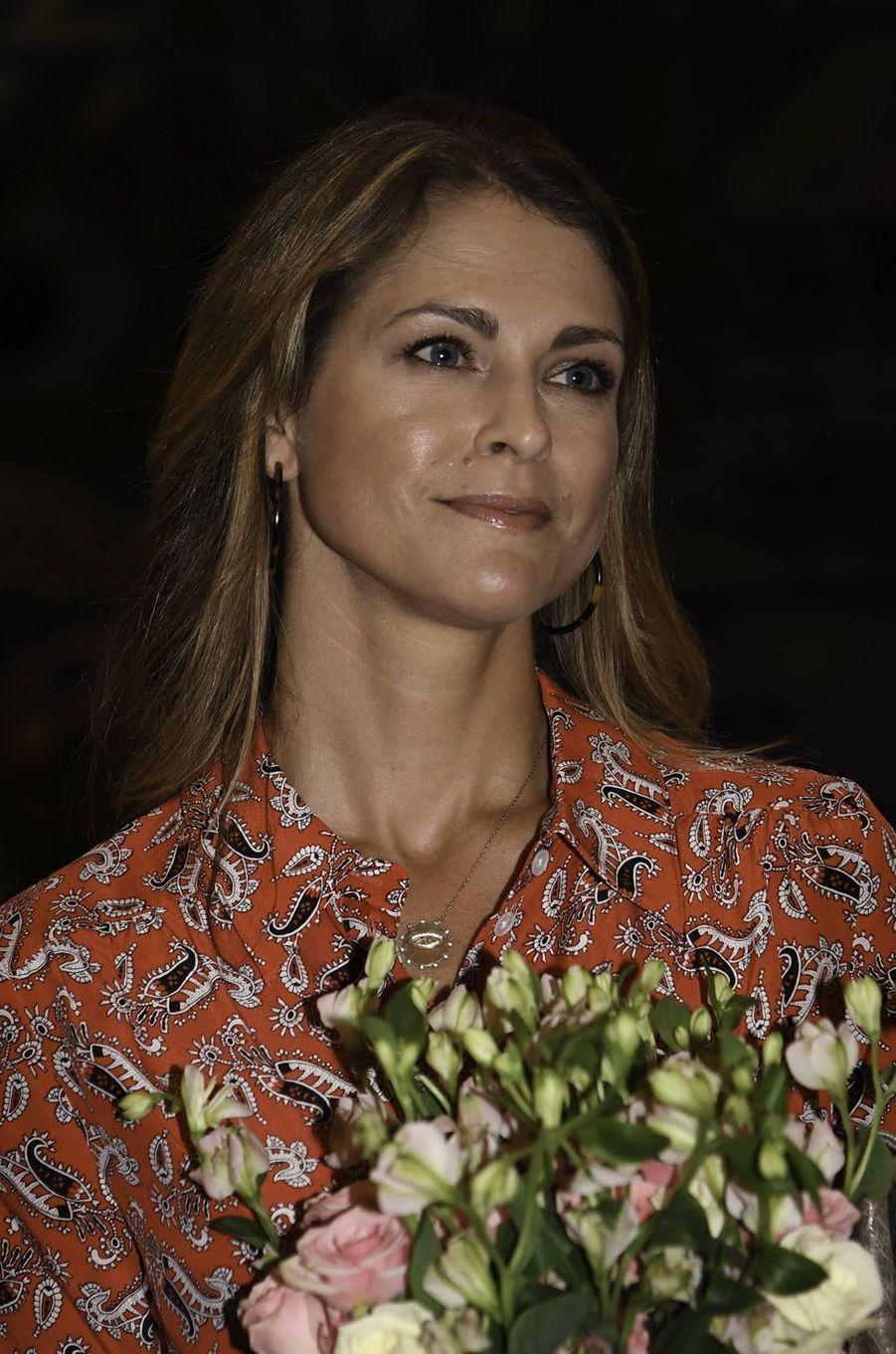 La princesse Madeleine de Suède à Fort Lauderdale en Floride, le 3 novembre 2019