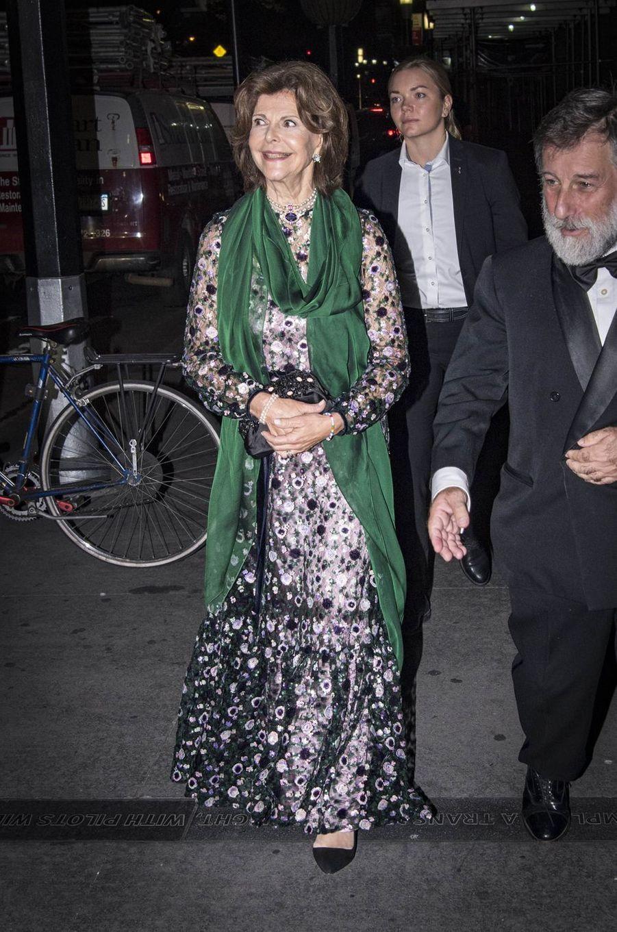 Silvia Et Madeleine De Suède À New York Le 2 Octobre 2017 13