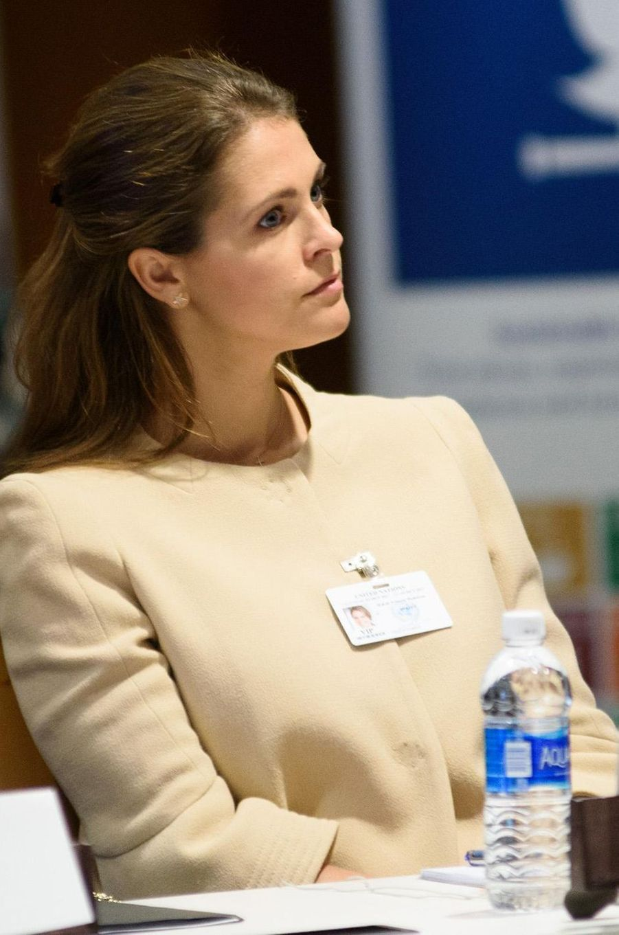 La princesse Madeleine de Suède à New York, le 2 octobre 2017