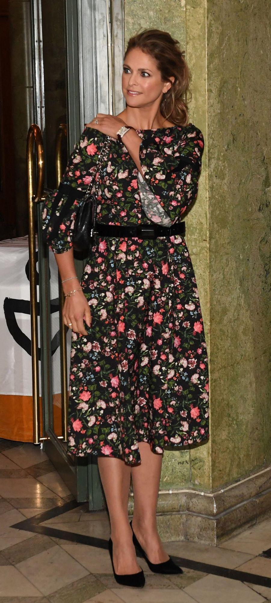 La princesse Madeleine de Suède à Stockholm, le 18 décembre 2018