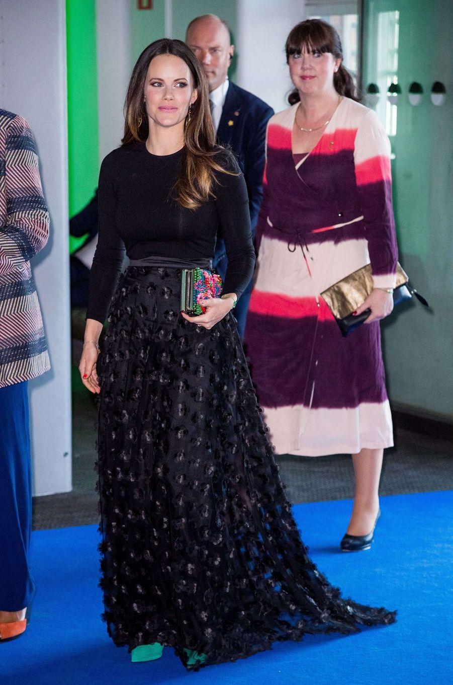La princesse Sofia de Suède à Stockholm, le 17 avril 2018