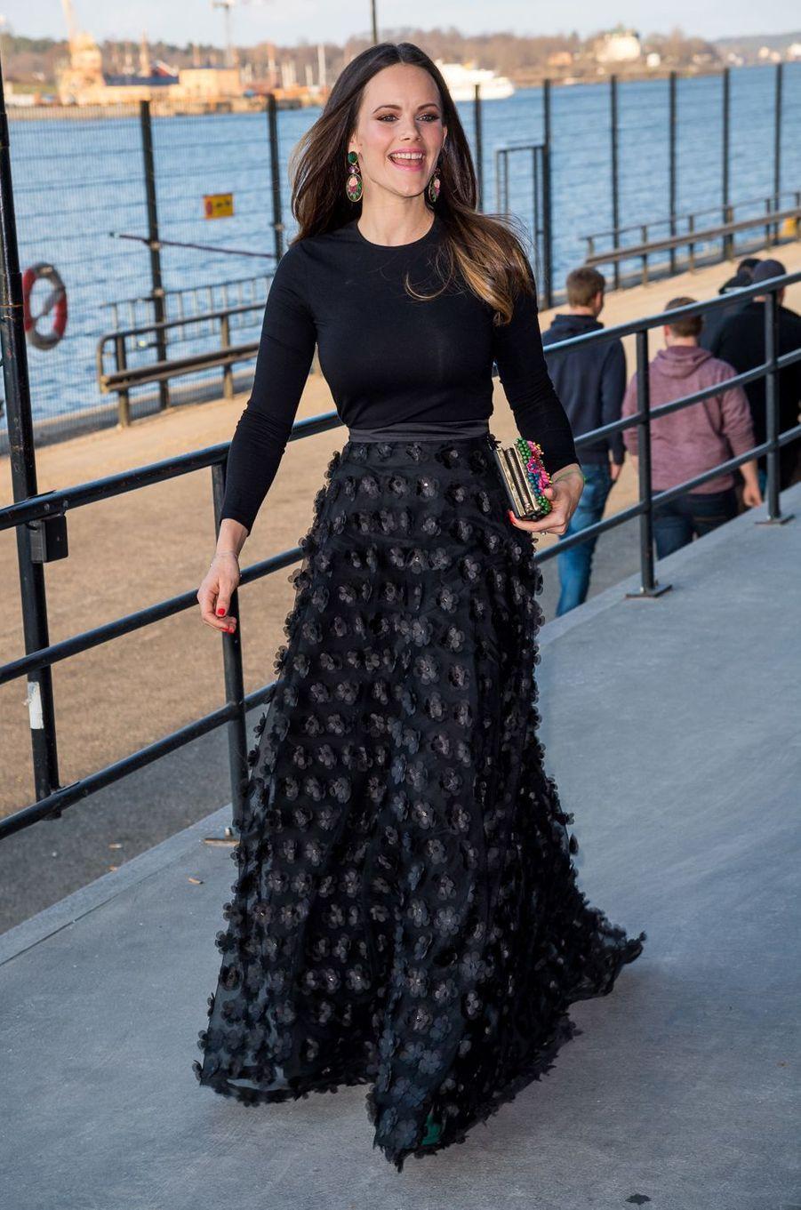 La princesse Sofia de Suède, née Hellqvist, à Stockholm le 17 avril 2018