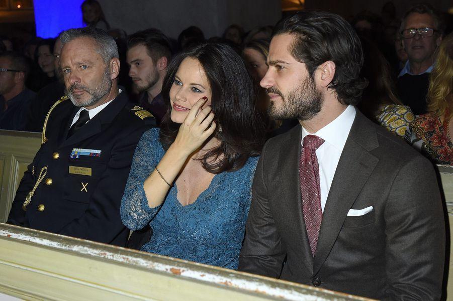 La princesse Sofia affiche un ventre bien rond