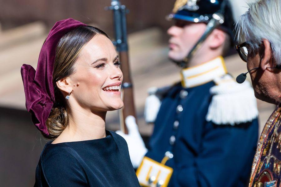 La princesse Sofia de Suède à Stockholm, le 10 septembre 2019