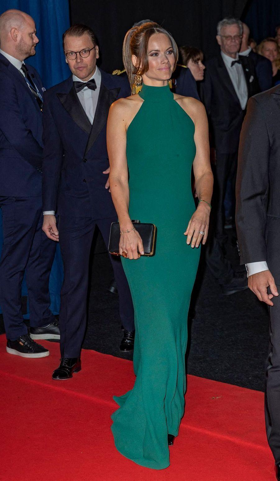 La princesse Sofia avec le prince Daniel de Suède à Stockholm, le 27 janvier 2020