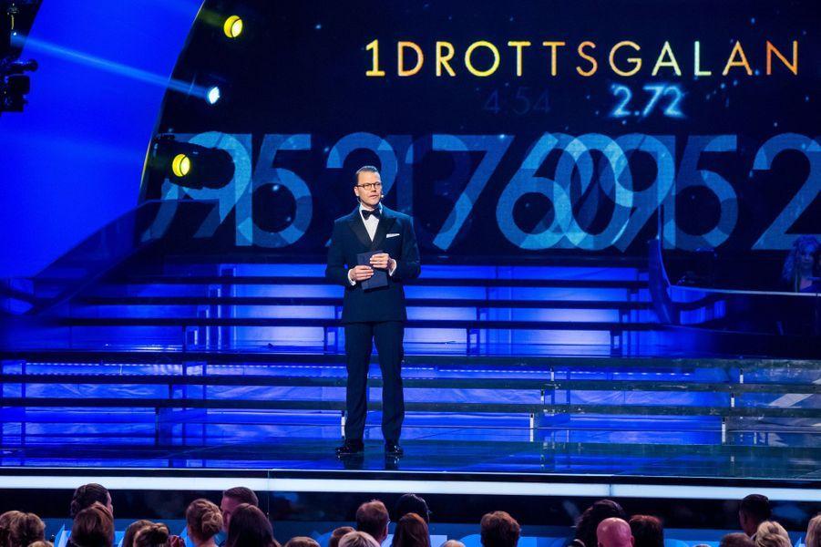 Le prince Daniel de Suède à Stockholm, le 27 janvier 2020