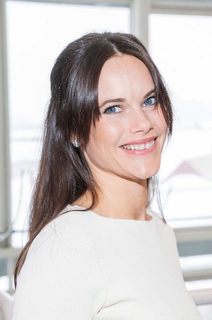 La princesse Sofia de Suède à Stockholm, le 1er février 2019