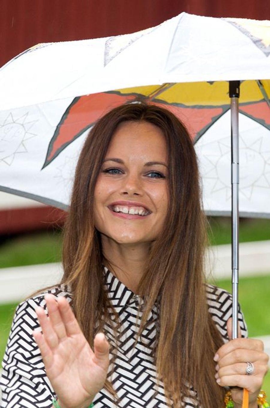 La princesse Sofia de Suède à Karlstad, le 27 août 2015