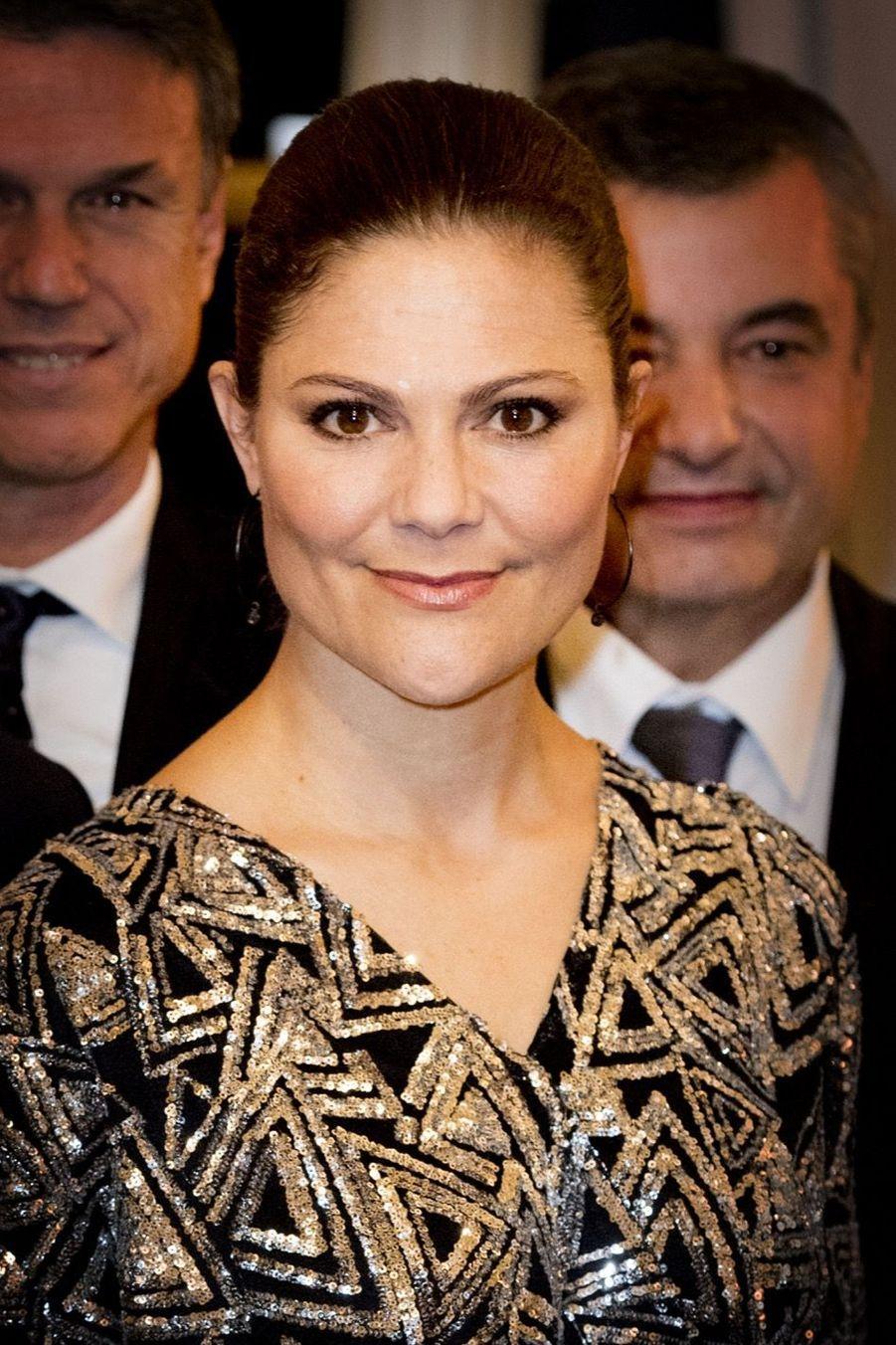 Le Prince Oscar, La Princesse Victoria De Suède Et Le Prince Daniel À Milan 16