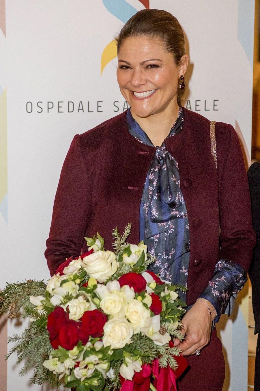 Le Prince Oscar, La Princesse Victoria De Suède Et Le Prince Daniel À Milan 24