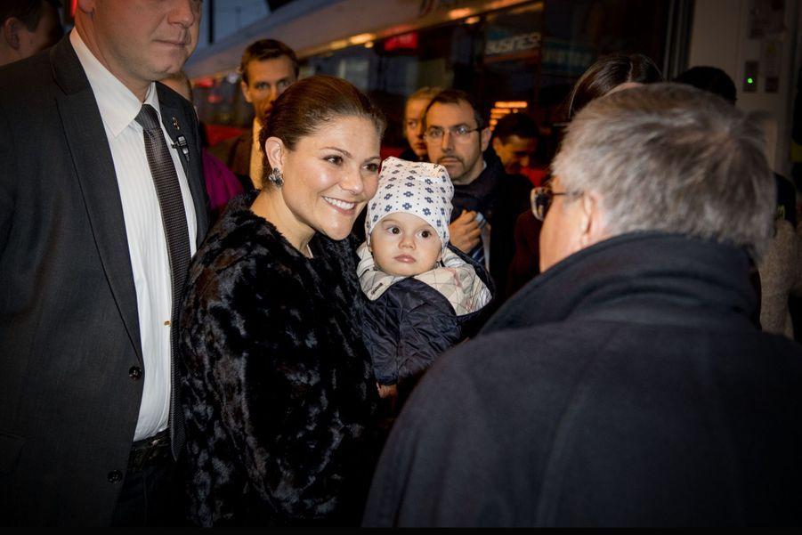 Le Prince Oscar, La Princesse Victoria De Suède Et Le Prince Daniel À Milan 3