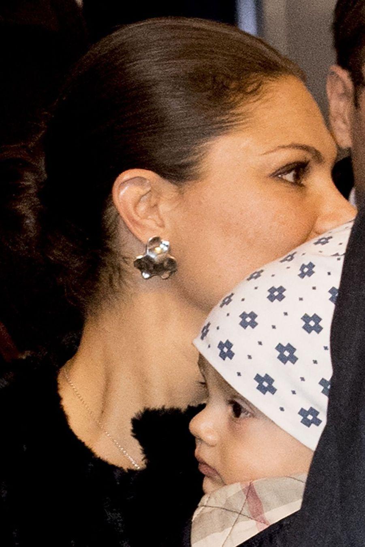 Le Prince Oscar, La Princesse Victoria De Suède Et Le Prince Daniel À Milan 7