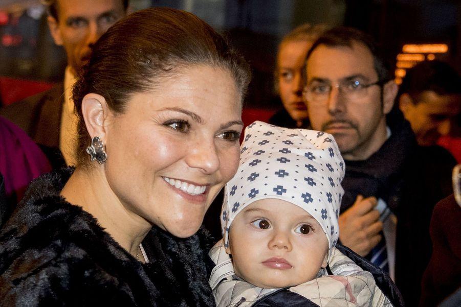 Le Prince Oscar, La Princesse Victoria De Suède Et Le Prince Daniel À Milan 8