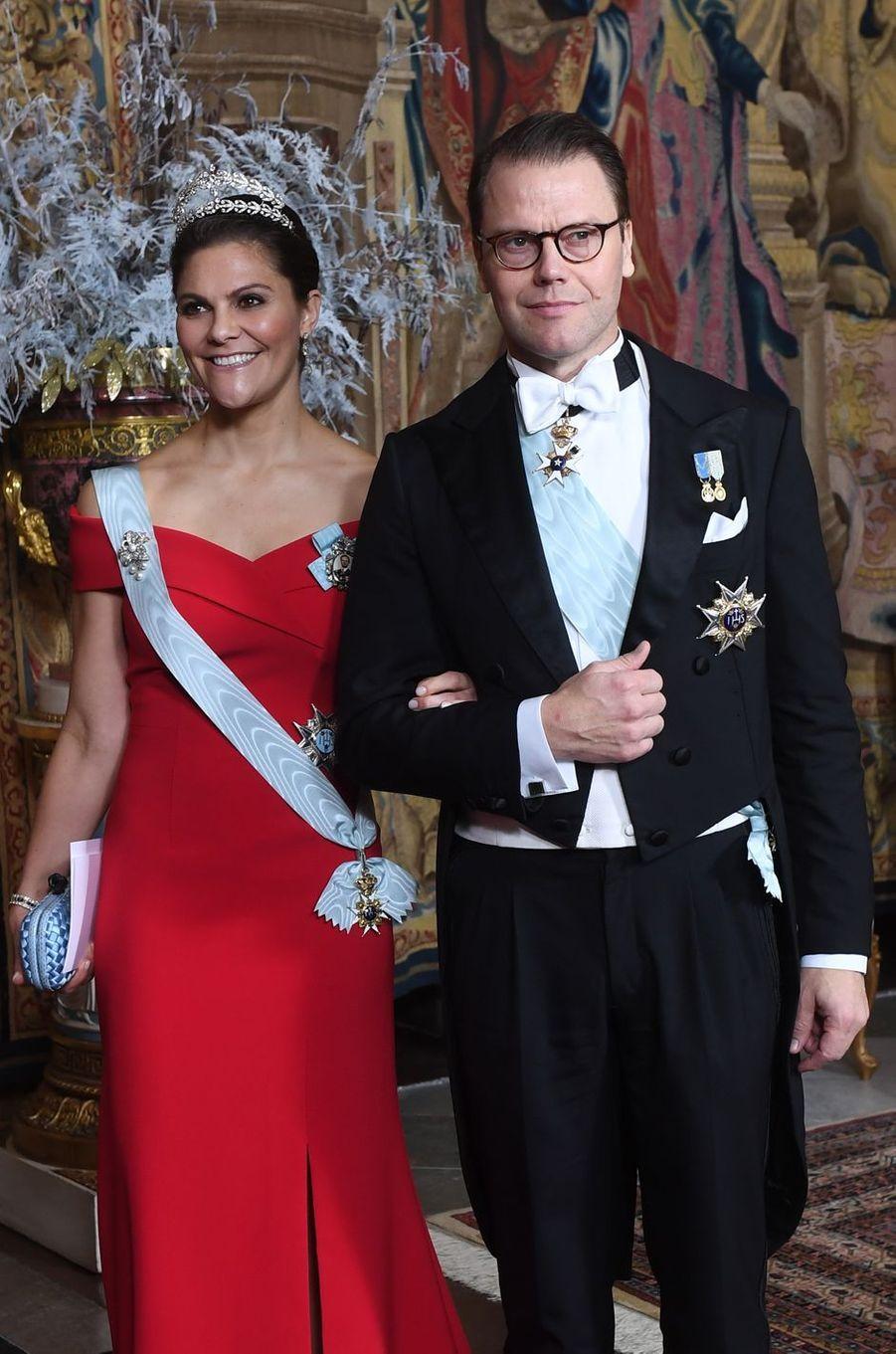 La princesse Victoria de Suède et le prince Daniel à Stockholm, le 11 décembre 2018