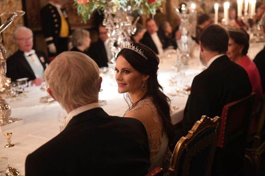 La princesse Sofia de Suède à Stockholm, le 11 décembre 2018