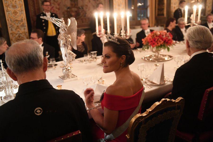 La princesse Victoria de Suède à Stockholm, le 11 décembre 2018