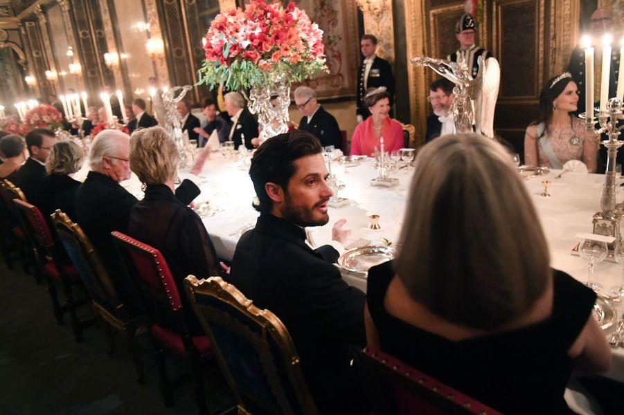Le prince Carl Philip de Suède à Stockholm, le 11 décembre 2018
