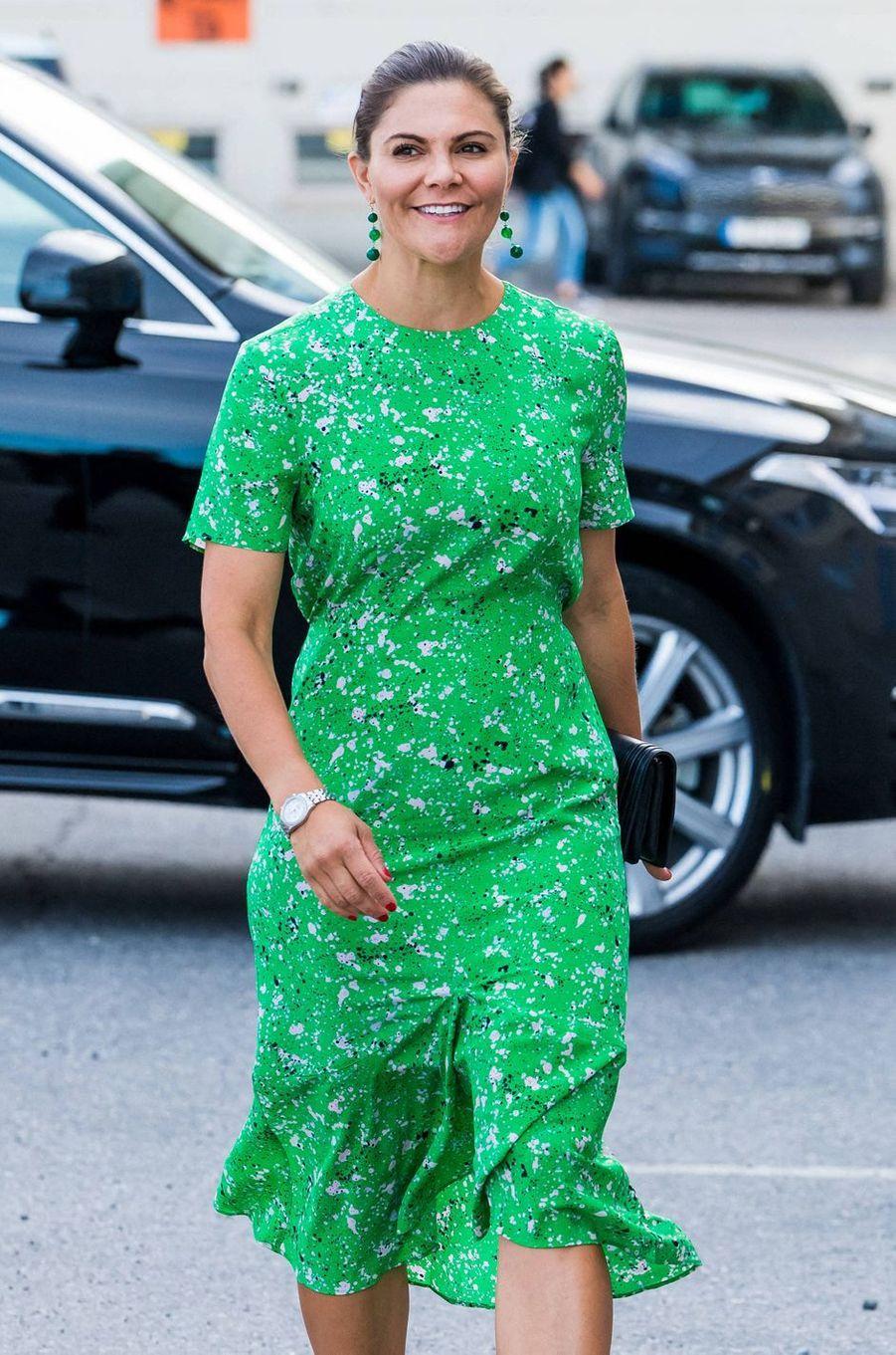 La princesse Victoria de Suède à Stockholm, le 26 août 2020