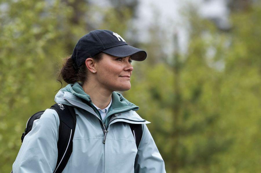 La princesse héritière Victoria de Suède dans le Medelpad, le 29 mai 2019
