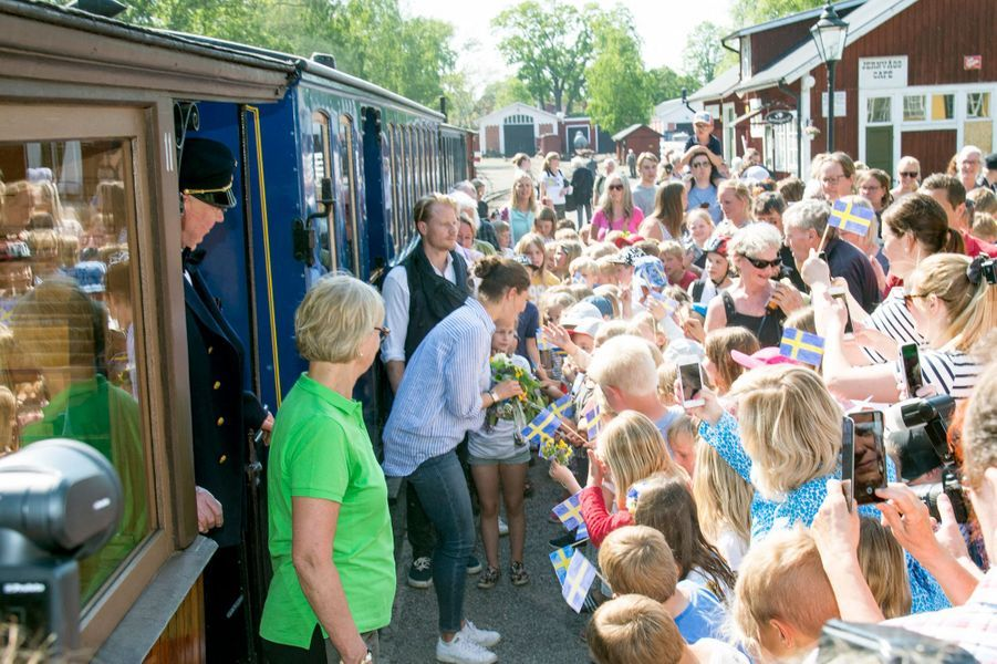 La princesse Victoria de Suède dans le Södermanland, le 22 mai 2019