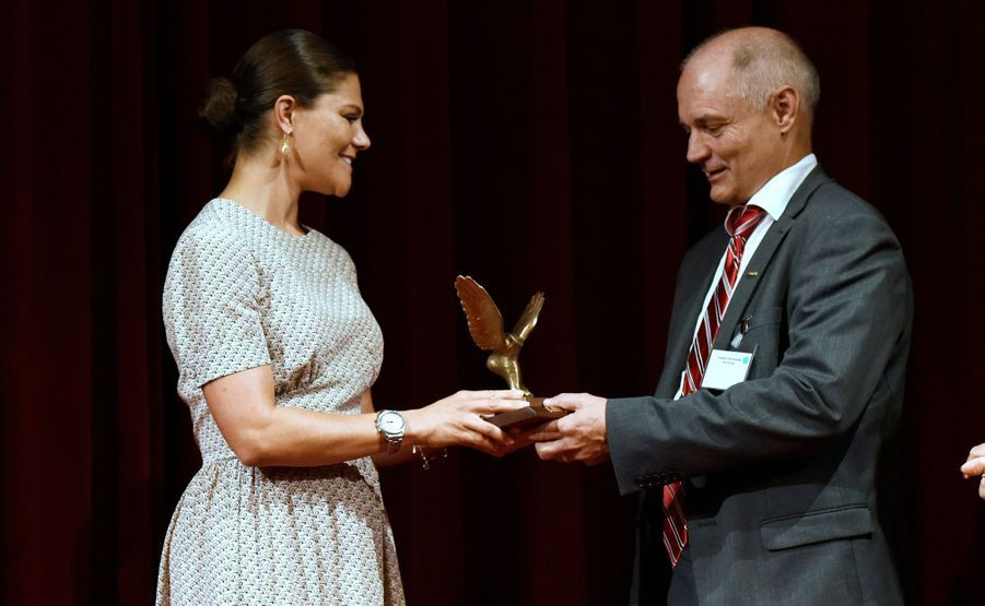 La princesse Victoria de Suède à Ekero, le 26 août 2015