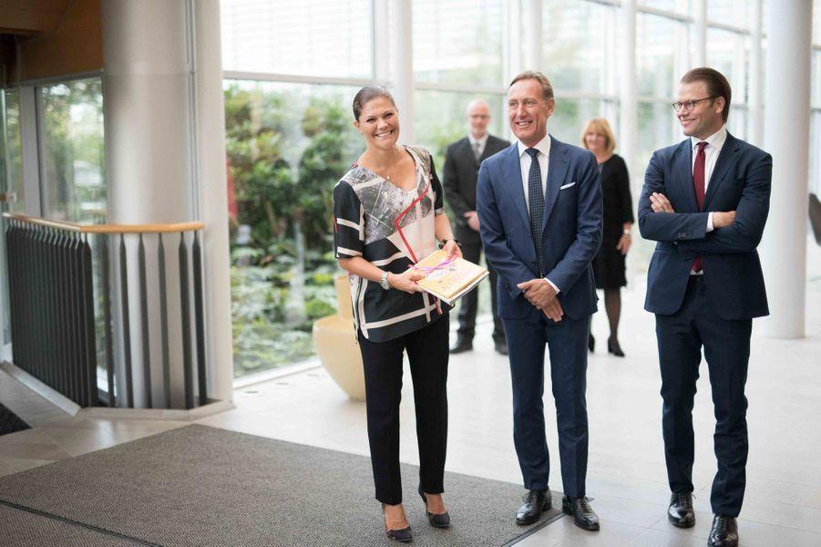 La princesse Victoria de Suède et le prince Daniel à Göteborg, le 10 septembre 2015