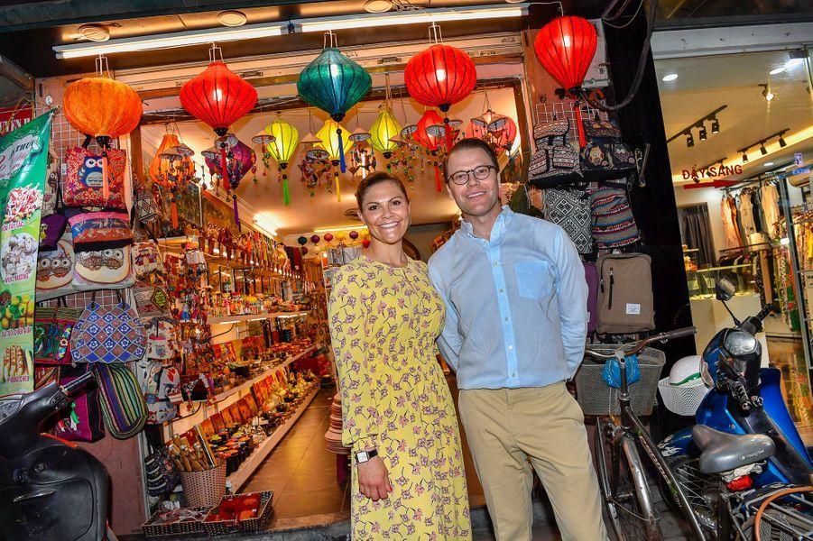 La princesse Victoria de Suède et le prince Daniel à Hanoi au Vietnam, le 6 mai 2019
