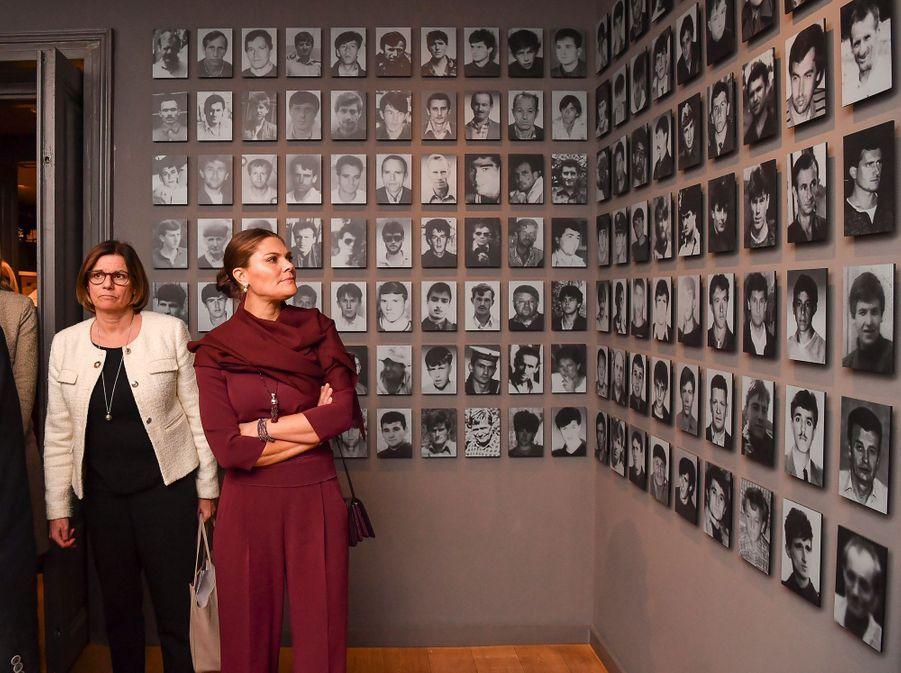 La princesse héritière Victoria de Suède en Bosnie-Herzégovine, le 6 novembre 2019