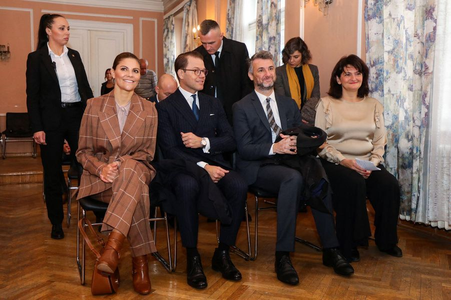 La princesse héritière Victoria et le prince Daniel de Suède en Bosnie-Herzégovine, le 7 novembre 2019