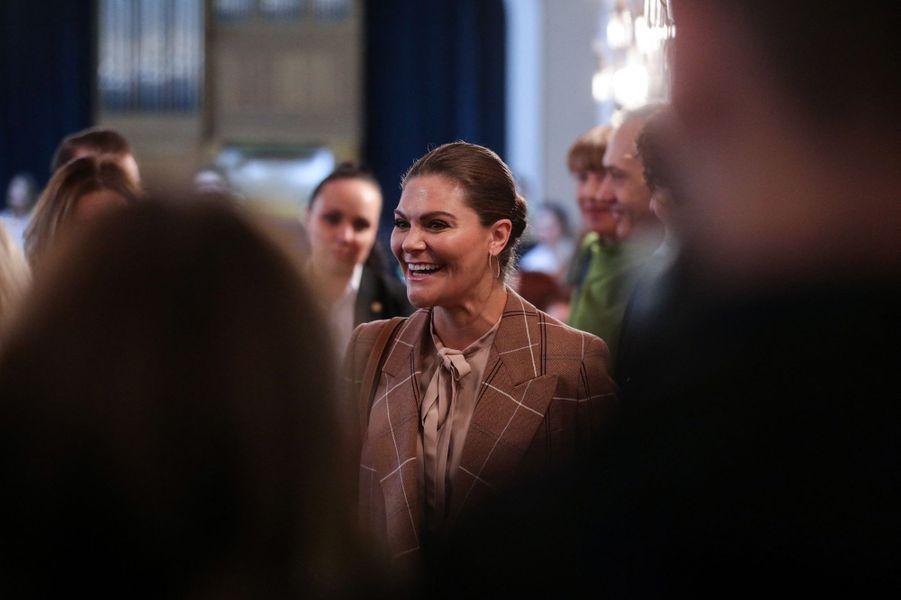 La princesse héritière Victoria de Suède en Bosnie-Herzégovine, le 7 novembre 2019
