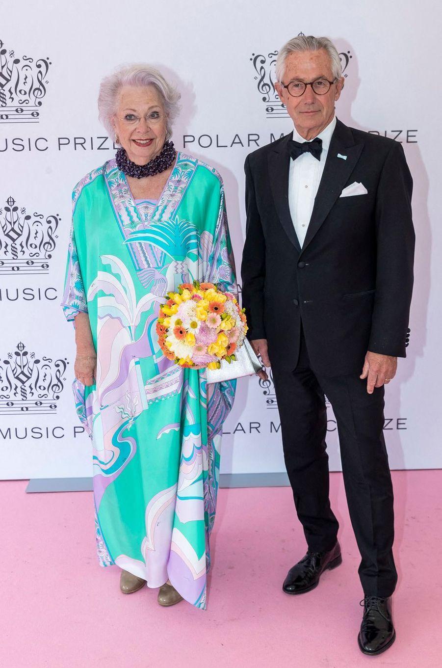 La princesse Christina de Suède et son mari Tord Magnuson à Stockholm, le 11 juin 2019
