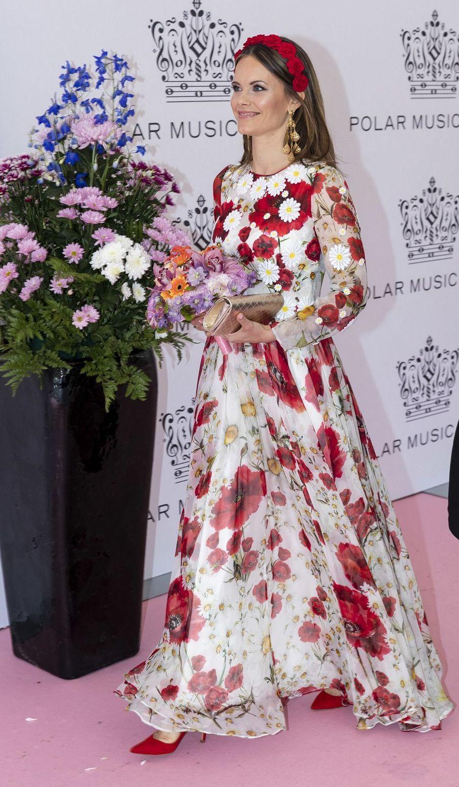 La princesse Sofia de Suède à Stockholm, le 11 juin 2019