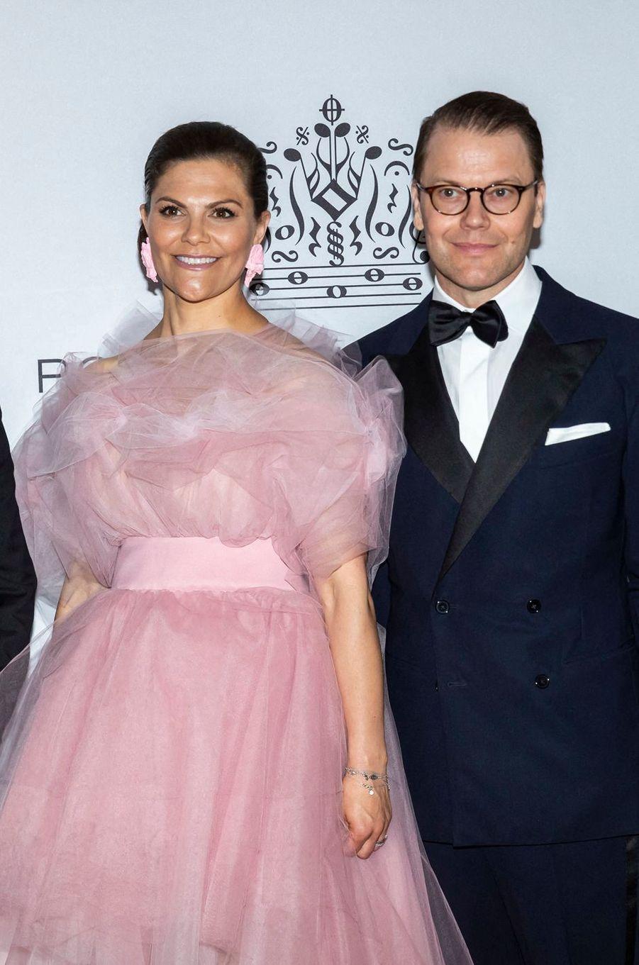 La princesse Victoria de Suède et le prince consort Daniel à Stockholm, le 11 juin 2019