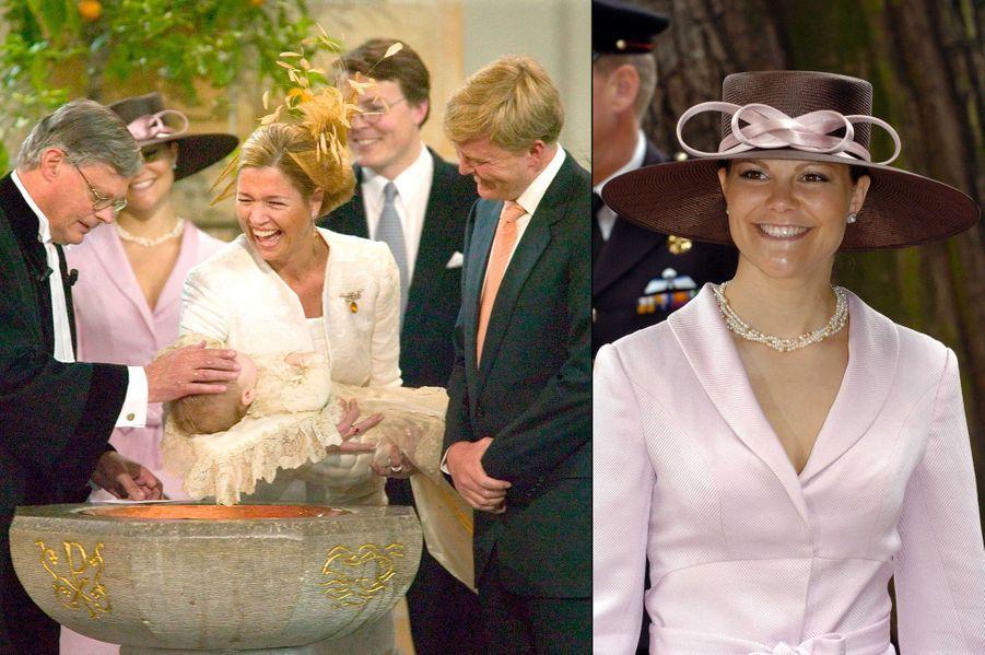 Baptême de la princesse héritière Catharina-Amalia des Pays-Bas, fille du roi Willem-Alexander des Pays-Bas et de la reine Maxima