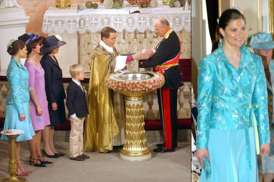 Baptême de la princesse Ingrid Alexandra de Norvège, fille du prince héritier Haakon de Norvège et de la princesse Mette-Marit