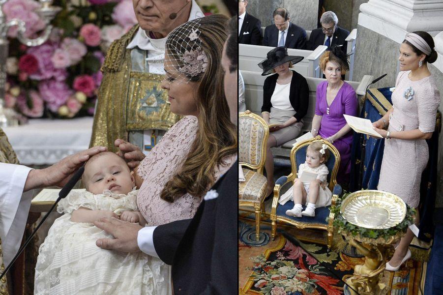 Baptême de la princesse Leonore de Suède, fille de la princesse Madeleine et de Chris O'Neill
