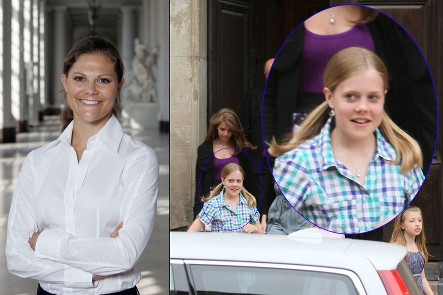 La baronne Madeleine von Dincklage, née en 1999, fille de la baronne Henning von Dincklage, cousine de la princesse Victoria, née Sibylla Ambler