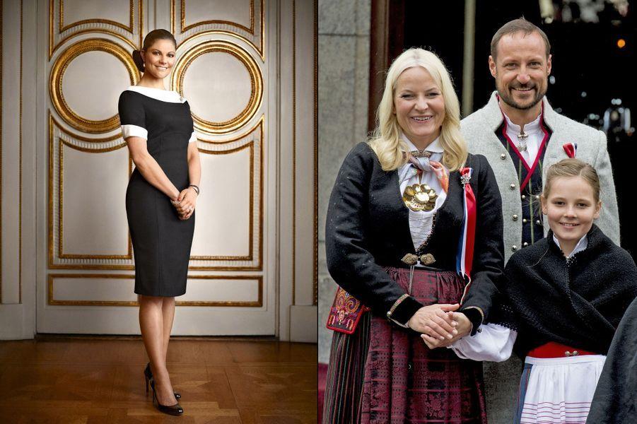 La princesse Ingrid Alexandra de Norvège, fille du prince héritier Haakon de Norvège et de la princesse Mette-Marit