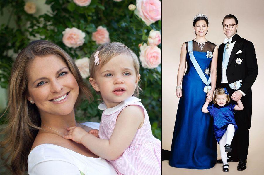 La princesse Leonore de Suède, fille de la princesse Madeleine et de Chris O'Neill
